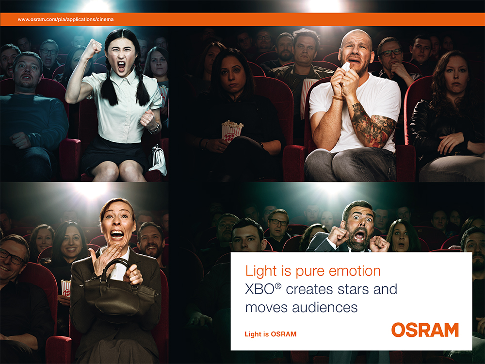 OSRAM - XBO cinema lamps