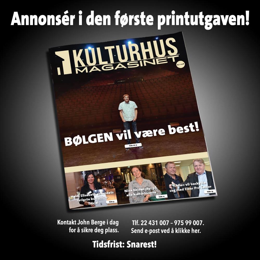 Kulturhusmagasinet nytt magasin