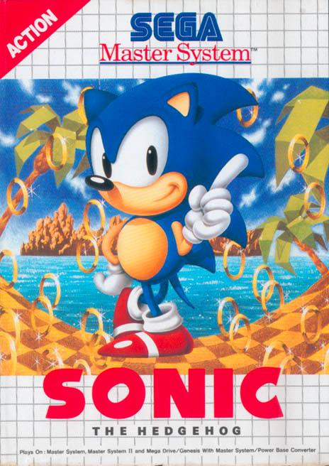 Sonic the HEdgehog original cover